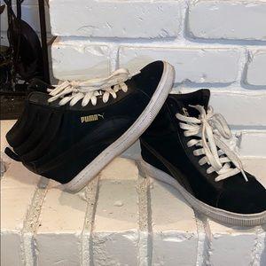 Puma wedge sneaker